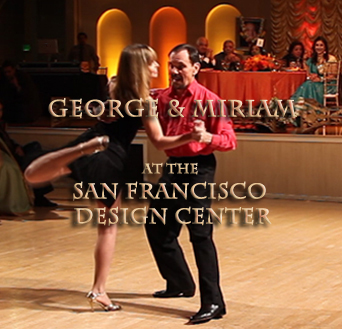 image of George and Miriam tango dancers